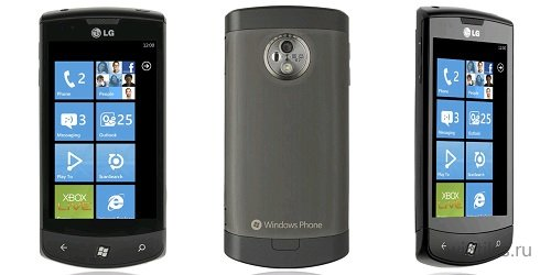 LG возможно выпустит смартфоны с Windows Phone 8