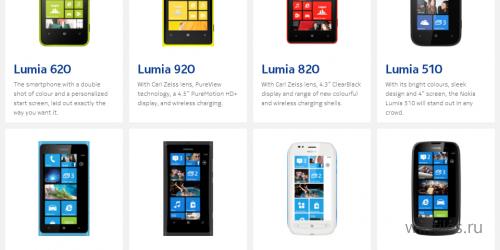 Nokia за три месяца продала 4,4 миллиона смартфонов серии Lumia
